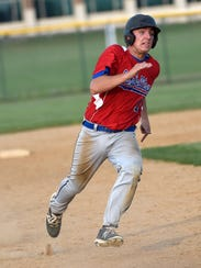 Campbelltown's Evan Hallowell contributed an RBI single