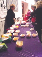 Samples of Beanito tortilla chips were offered to the attendees who left with additional samples, gifts, and ideas for the upcoming holiday baking season.
