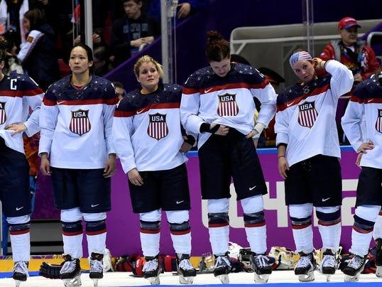 Girl Hockey Fans Hockey Fans Call Olympics