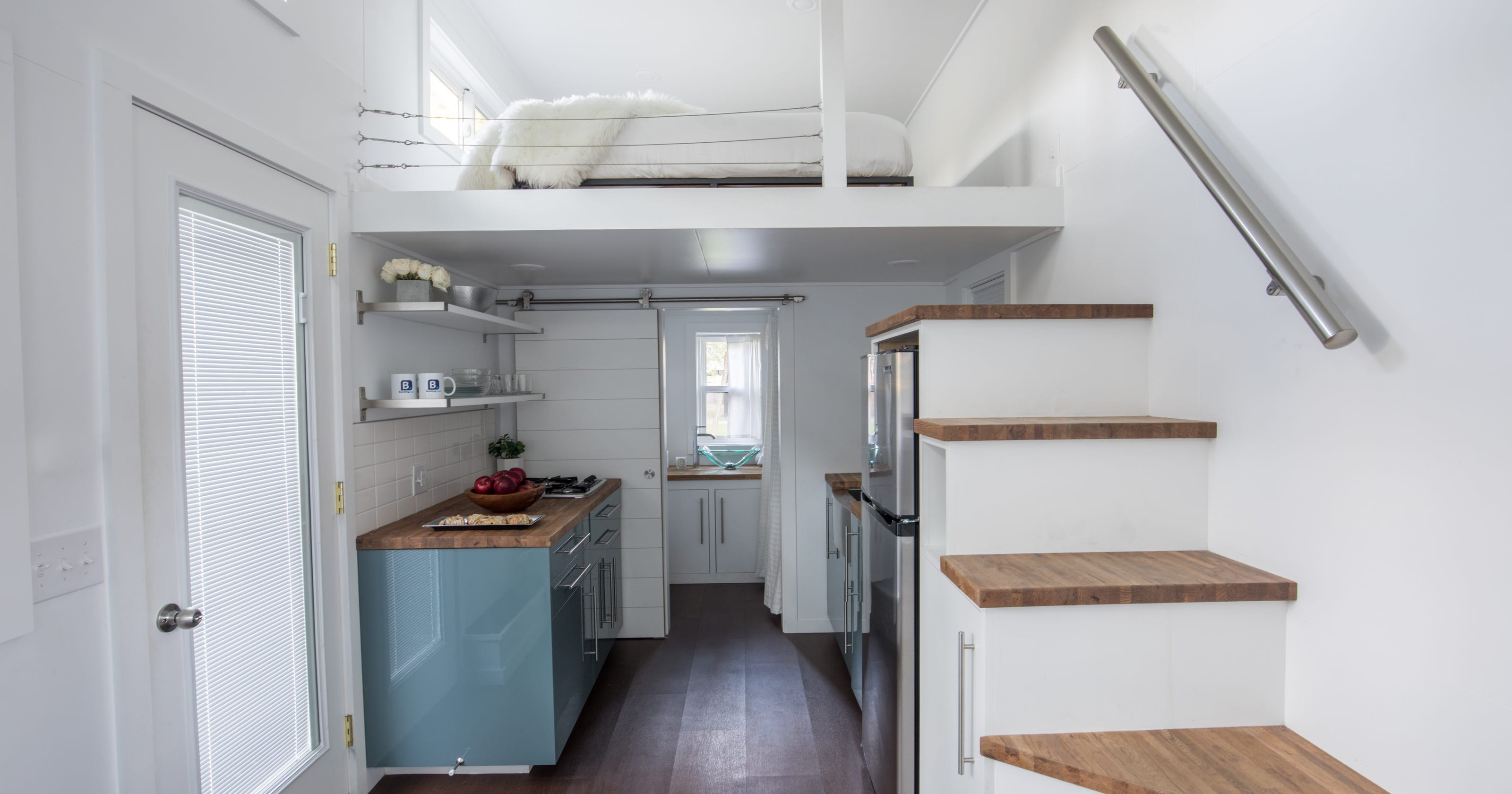 Comedian Kevin Hart decorates a tiny house for Booking.com. on caboose home plans, bobber caboose model plans, caboose interior plans, caboose construction plans, caboose diy plans, caboose cabin plans, caboose shed plans,