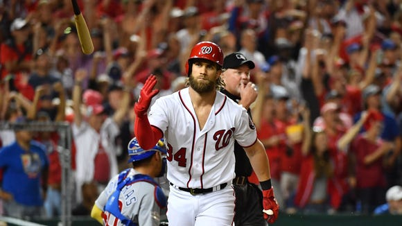 USP MLB: NLDS-CHICAGO CUBS AT WASHINGTON NATIONALS S BBN WAS CHC USA DC