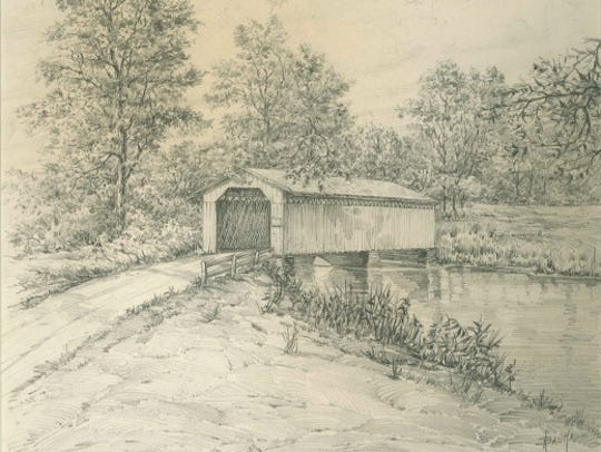 More than 40 covered bridges once dotted the Wisconsin