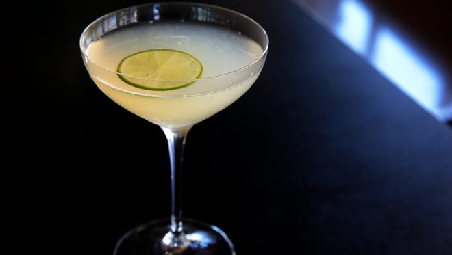 Classic daiquiri, fresh lime, organic simple and Mt. Gay Rum by Northstar Cafe at Liberty Center.