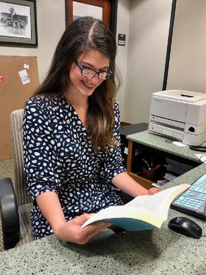 Rachel Smith, manager of the Windsor Branch of the Fort Smith Public Library.
