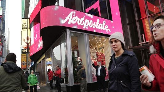Aeropostale's Howell Township store is one of five closing in Michigan and 113 nationwide.