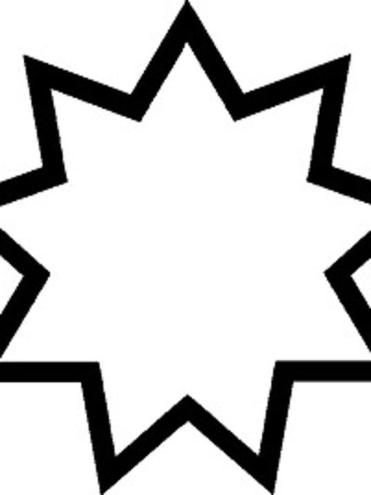 Baha'i nine-pointed star