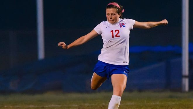 Isabelle Russell and the Riverside Warriors are No. 9 in Class AAAAA in the latest South Carolina High School Soccer Coaches Association rankings.