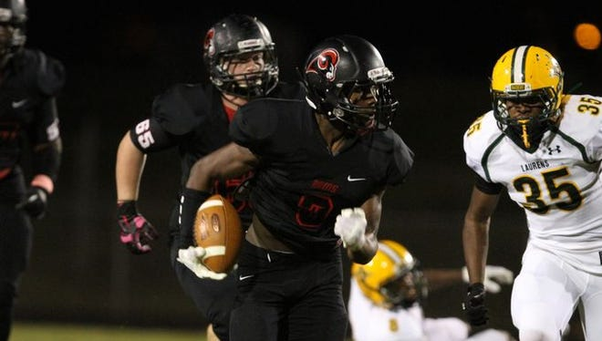 Hillcrest High hosted Laurens High and held their homecoming Friday, Oct. 17, 2014