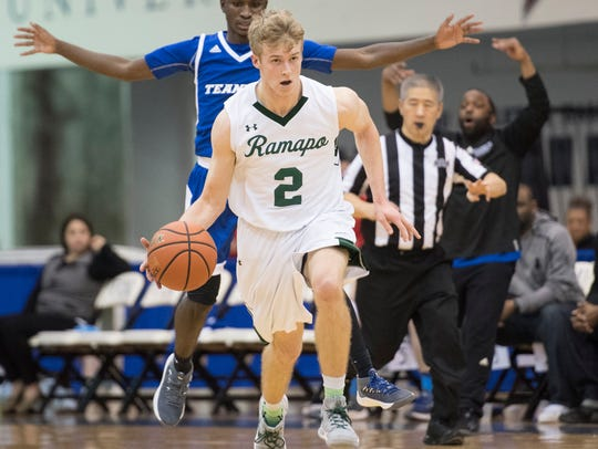 K.C. Hunt also plays basketball for Ramapo.