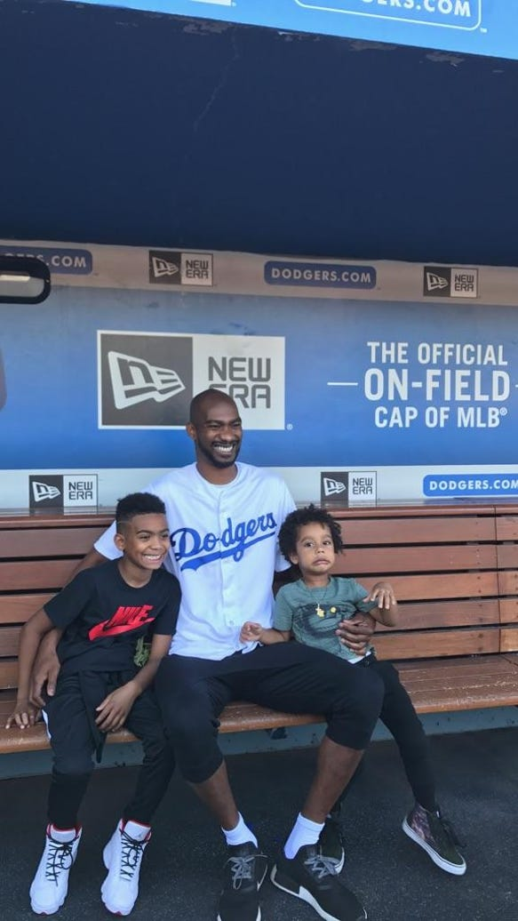 Corey Brewer explains how to throw a first pitch