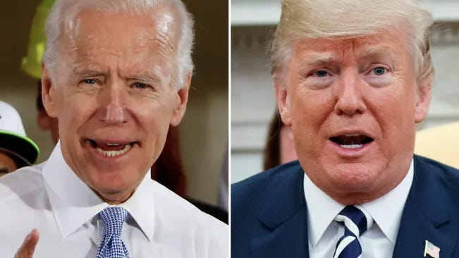 Former Vice President Joe Biden has increased his lead over President Donald Trump in a new poll. AP