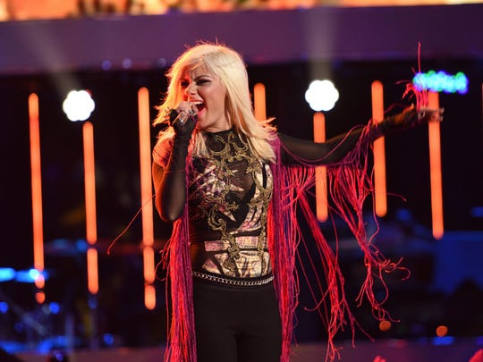 """Jax performs """"Piece of My Heart"""" on """"American Idol"""" at the Top 6 performance of the longrunning competition reality show."""