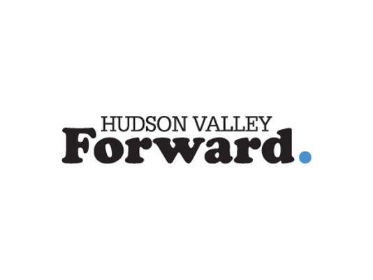 Hudson Valley Forward logo white background