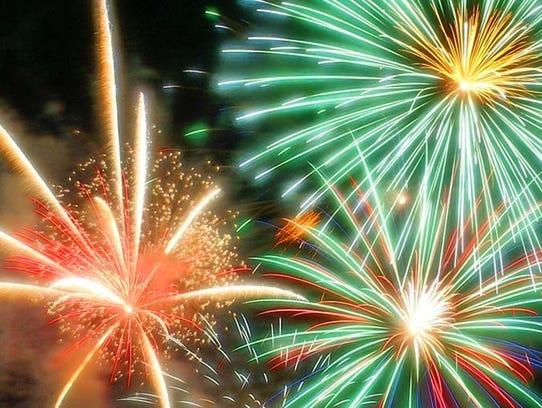 FILE PHOTO- Bartolotta Fireworks in Delafield.