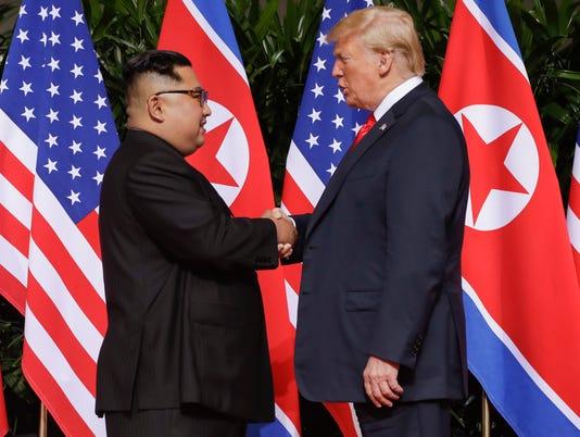 Donald Trump, Kim Jong Un