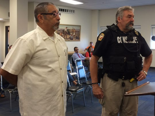 John Rodriguez, a former San Angelo police officer, joins the County Constables.