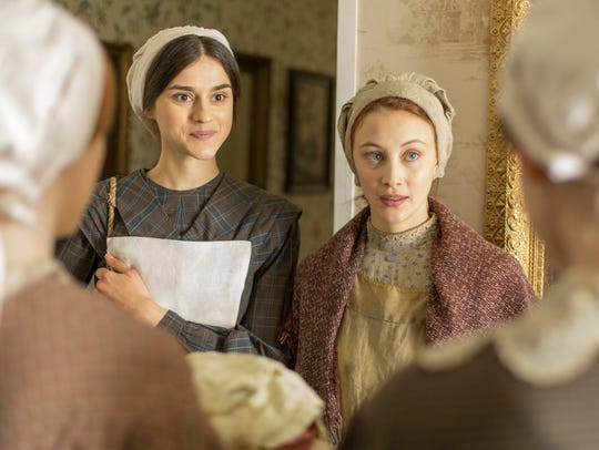 A scene from Netflix's 'Alias Grace' series adapted