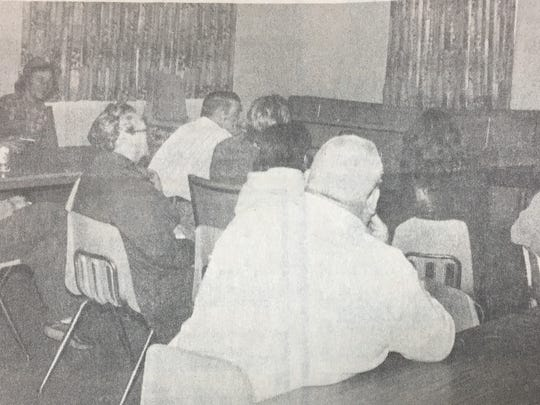 Several Union County families watched a video explaining the inheritance process in hopes of gaining an inheritance of $100,000 a year from the estate of James Allen Meadors in February 1986.