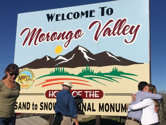 Morongo Valley sign