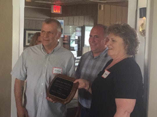 Ritchie and Denise Conklin were named Chincoteague's