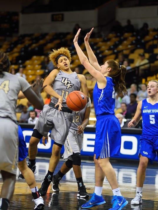 Women's Basketball: Kayla Thigpen
