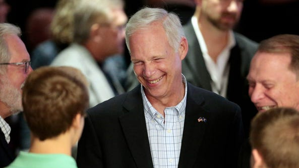 U.S. Sen. Ron Johnson is a Republican from Wisconsin.