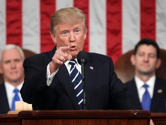 News: Donald Trump Joint Session of Congress