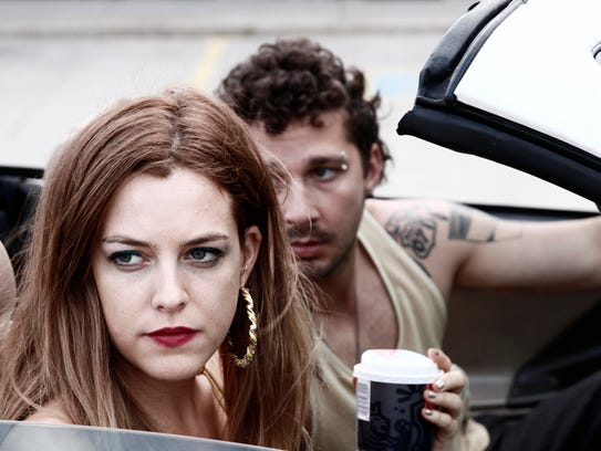 """Riley Keough and Shia LaBeouf star in """"American Honey."""""""