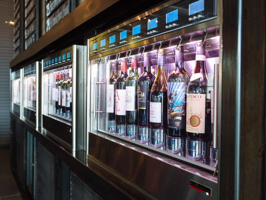Self-serve wine plus an extensive menu will put Sorso on your must-try list,