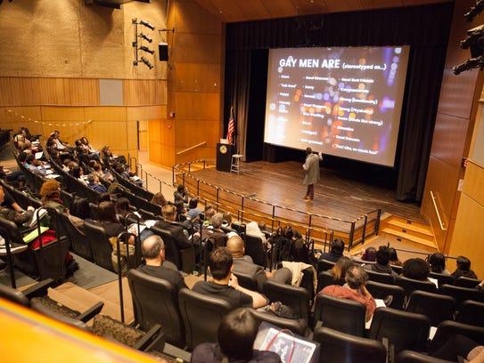 Keynote speaker of the Unraveling Gender event Sam