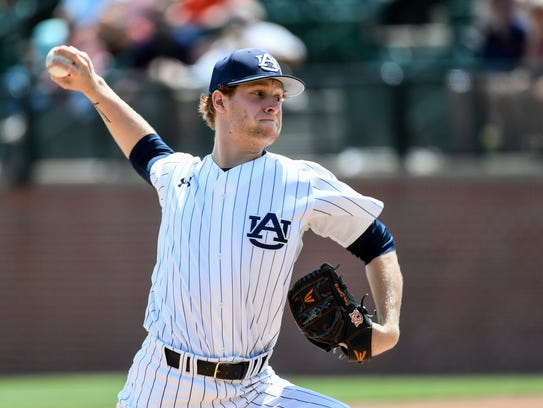 Auburn sophomore pitcher Davis Daniel likely will be dropped from the Tigers starting rotation starting next weekend after another disappointing outing in a 7-2 loss to Mississippi State.