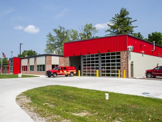 Kimball Township firefighters went to a vehicle fire
