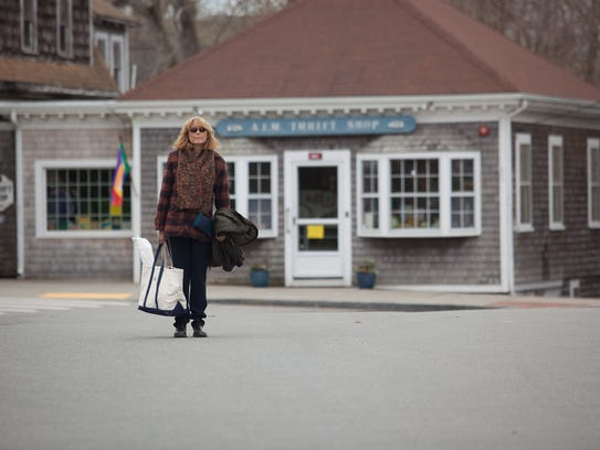 "Karen Allen seen in a scene from ""Year By the Sea."""