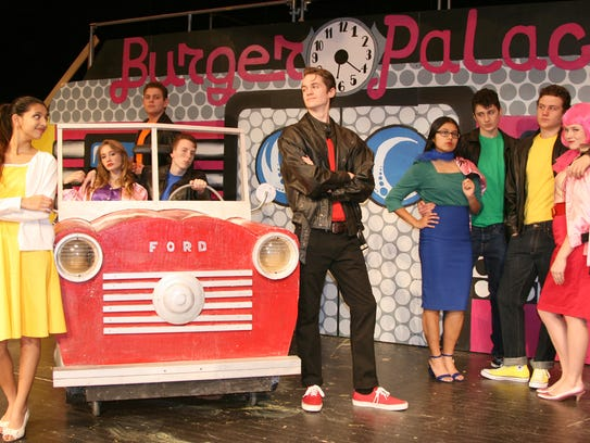 The 2017 Vestal High School production of 'Grease'