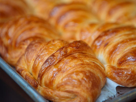 Hot croissants are a delicacy worth having no matter where you are.
