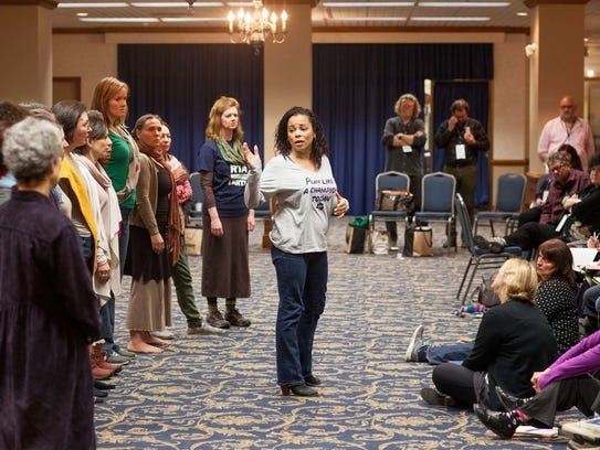 One of many Shakespeare-related workshops at the 2016