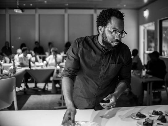 Nigerian-born cook Tunde Wey uses food to highlight