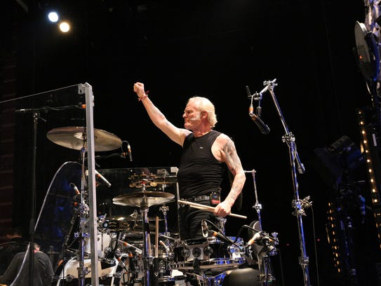 Martin Chambers has been the Pretenders' drummer since
