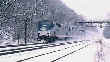 Train: Capitol Limited.  Location: Near Cumberland, Md.  Fun fact: The Capitol Limited train runs daily between Washington, D.C., and Chicago, following the historic B&O line past historic Harpers Ferry and the Allegheny Mountains into Pittsburgh.