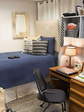 Decorate dorms with style, storage