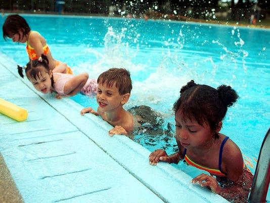 Photo --- colburn pool
