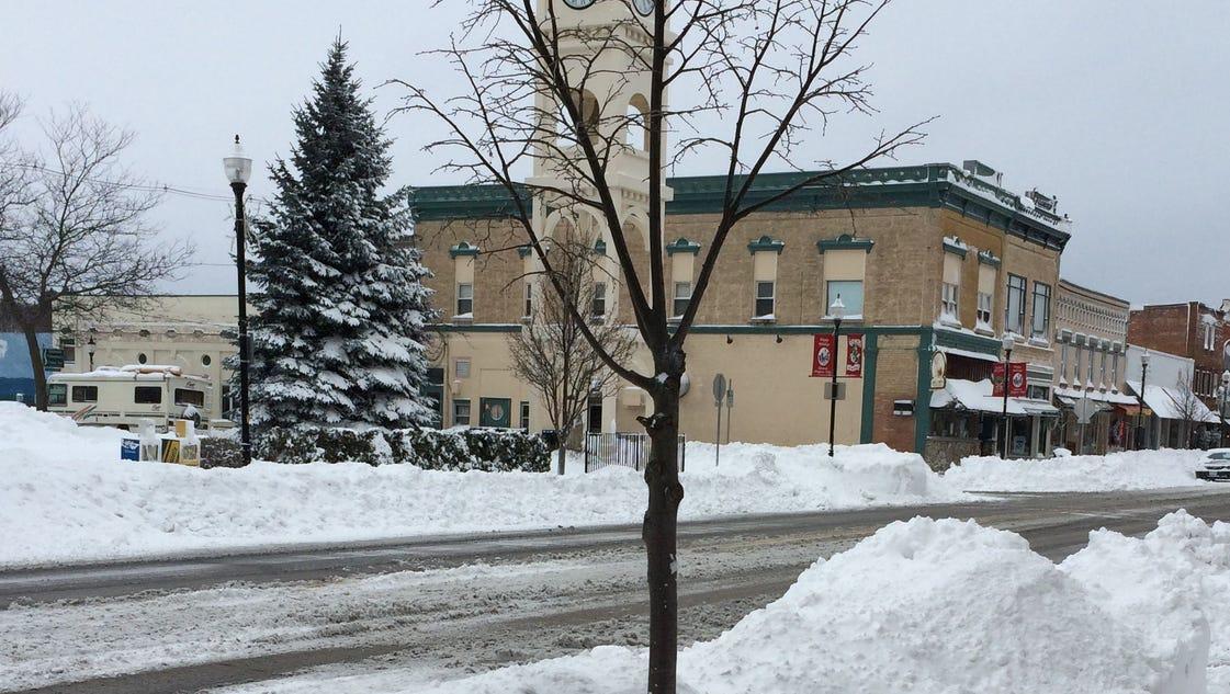 Door County Travel Very Dangerous Due To Snow
