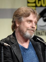 Mark Hamill attends a panel for 'Star Wars: The Force