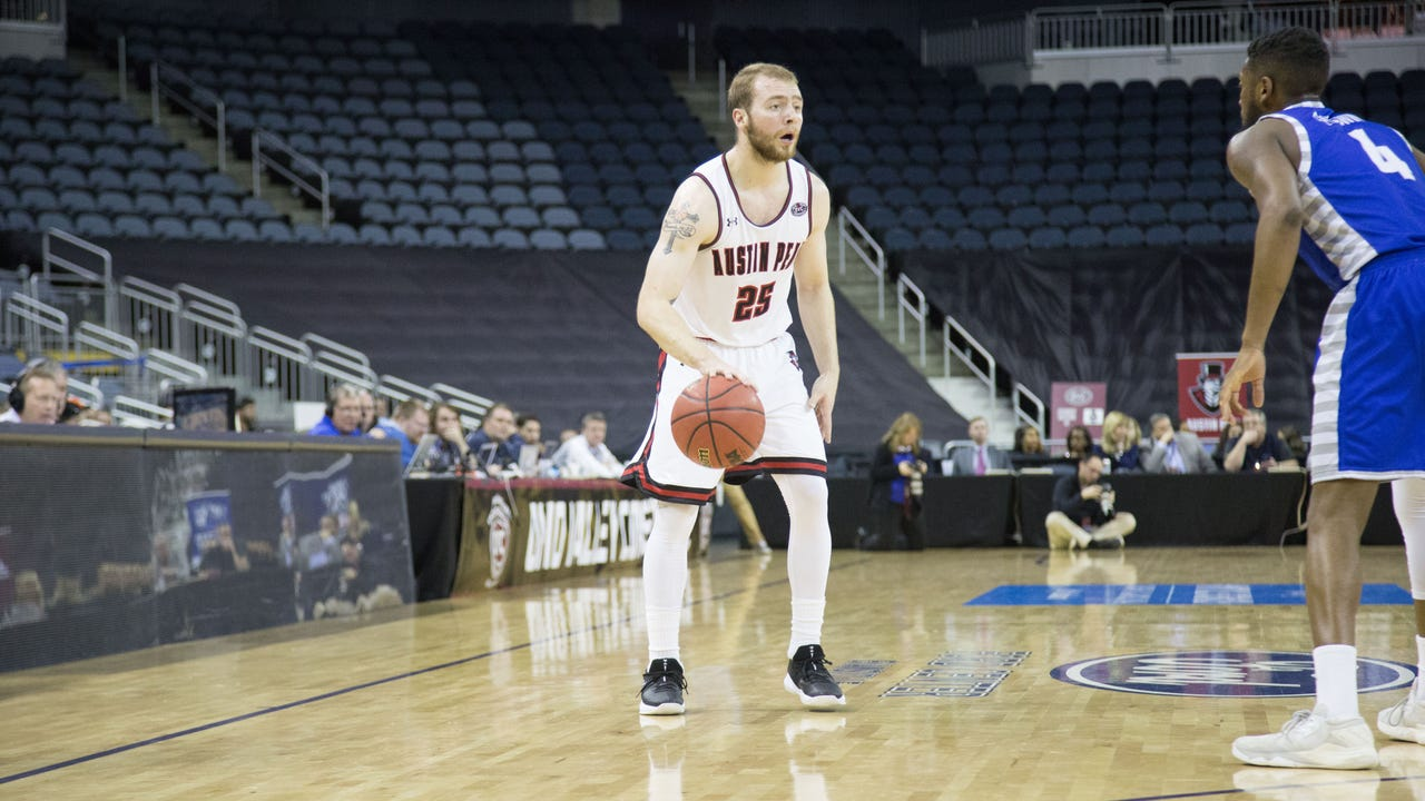 Austin Peay men's basketball knocked off Eastern Illinois 73-66 in the OVC tournament.