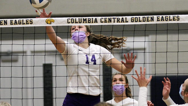 Skye Woodman and the Bronson volleyball team are still alive in the MHSAA postseason. There was to be a representative council meeting on Wednesday, but the MHSAA postponed the gathering.