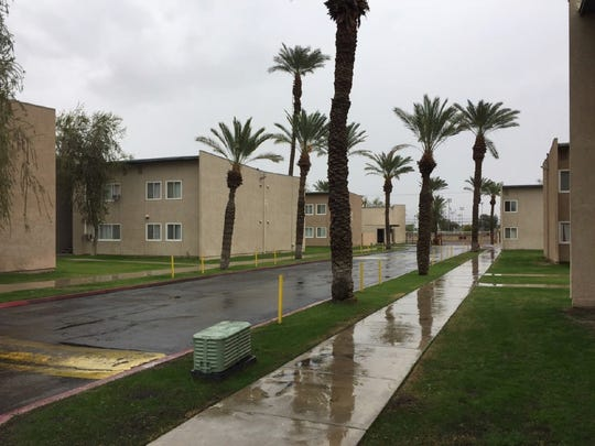 Desert Oasis, an Indio apartment complex, was acquired by affordable housing company Community Preservation Partners in 2017.