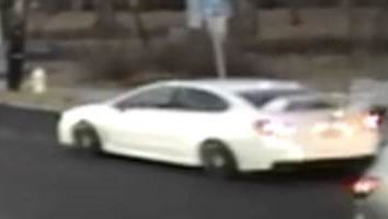 The driver of this car reportedly exposed himself to two girls in Rye on Dec. 12, 2016.