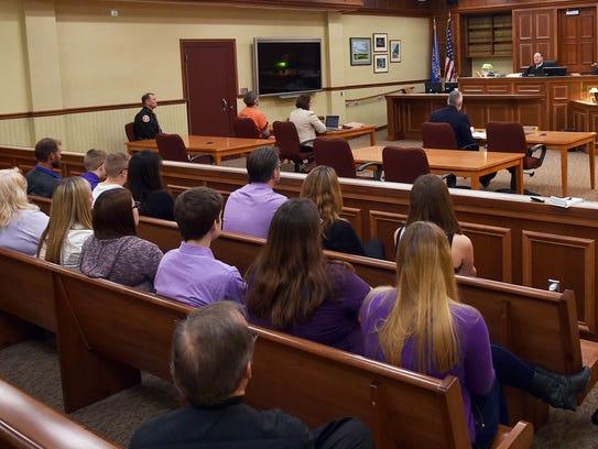 Door County Circuit Court Judge D. Todd Ehlers denied