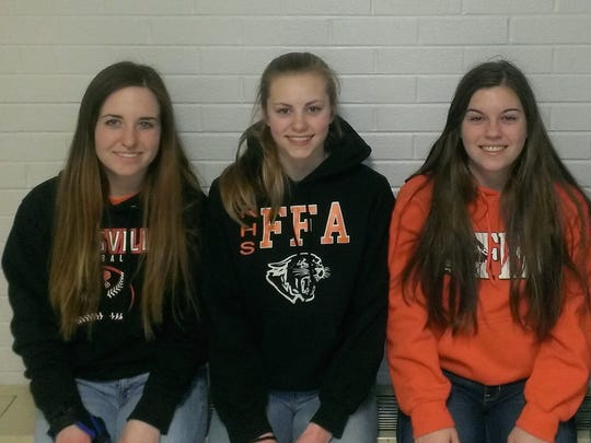 The Reedsville FFA recently competed in the dairy foods,