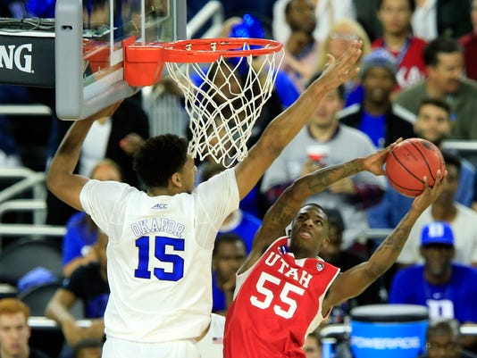 NCAA Basketball: NCAA Tournament-South Regional-Duke vs Utah